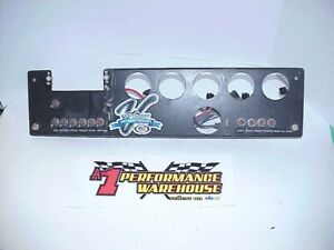 Race Car Dash Gauge Panel With 11 Switches From Venturini Motorsports Arca Team