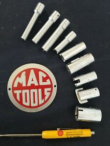 Mac Tools Socket Set Special Carburetor Cs Sockets 1 4 Drive Vintage Sabina O