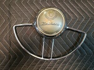 Nice 1948 Packard Horn Ring Steering Wheel 1950 1949 Eight W Button
