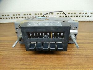 Ford Am Radio Vintage 1960 S 70 S