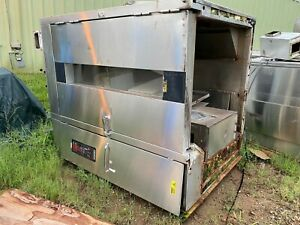 Hobart H0210g2 Natural Gas Rotating Double Rack Bakery Oven 290 000 Btu