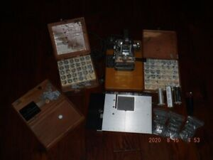 Kingsley M 50 Hot Foil Stamping Machine Serial 51710 And So Much More usps Fr