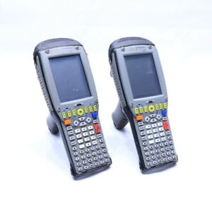 Lot Of 2 Psion Teklogix 7535 Barcode Scanners