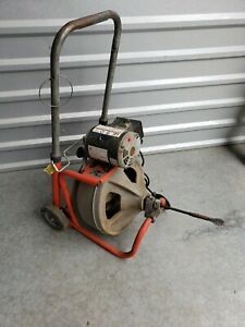 Ridgid K 400 Drain Cleaning Drum Machine 115v