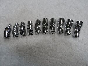 Craftsman 1 4 Drive Metric Mm Swivel Flex Socket Set 6pt 10 Pcs 5 14 Mm