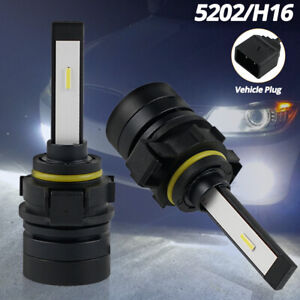 5202 5201 Led Drl Bulb For Cadillac Escalade Esv Ext 07 14 Daytime Running Light