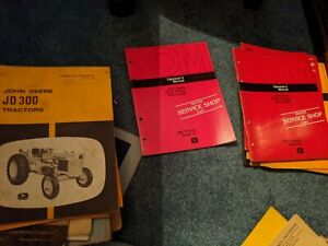 John Deere 300 301 300b 401 401a Tractor And Loader Operator s Manual Choice