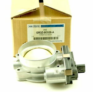 Genuine Oem Gr3z9e926a Ford 15 17 Mustang Throttle Body New Fast Free Shipping