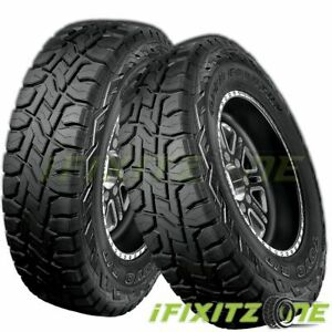 2 Toyo Open Country R T 37x12 50r20 10p All Terrain Off Road Rugged Truck Tires