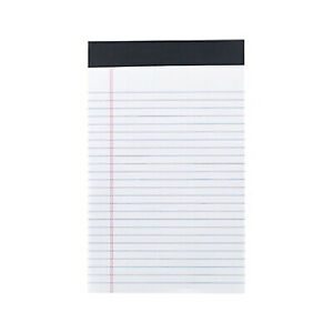 Myofficeinnovations Notepads 5 X 8 Narrow White 50 Sheets pad 12 Pads pack
