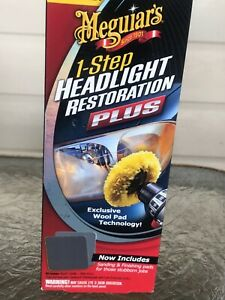 Meguiar s G1900k headlight Restoration Kit plastx Cleaner And Polish