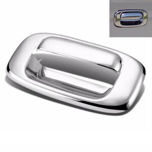Fit 1999 2006 Chevy Silverado Gmc Sierra Chrome Tailgate Handle Cover Bezel Trim