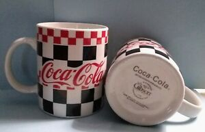 COCA-COLA MUGS  PAIR OF