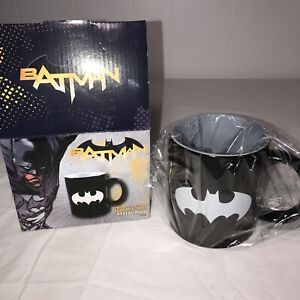 BATMAN Coffee Mug 20oz Ceramic Heat Reveal Graphics Appears when Mug is HOT +BOX