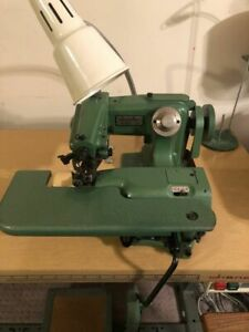 Industrial Blindstitch Sewing Machine And Table