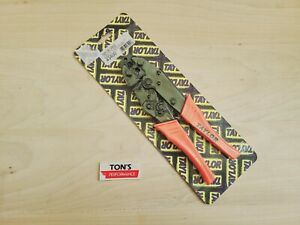 Taylor Cable 43400 Pro Crimp Wire Crimping Tool Professional Ratcheting Terminal