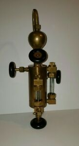 Antique Detroit Lubricator Company Steam Engine Oiler Lubricator Injector