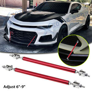 Adjust 6 9 Front Bumper Sporty Bars Strut Support Stabilizer For Chevy Camaro