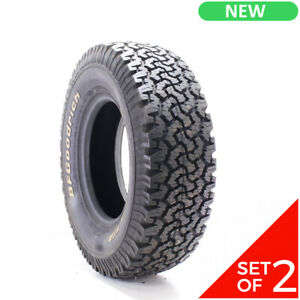 Set Of 2 New Lt 265 75r16 Bfgoodrich All terrain T a Ko 123 120s 15 32