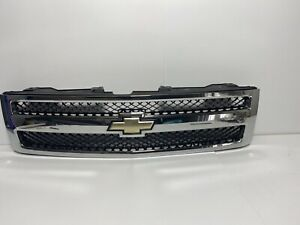 2007 2008 2009 2010 2011 2012 2013 Chevy Silverado 1500 Grille Oem Used