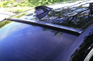 Jr2 Carbon Pring Fit 2011 2014 Cadillac Cts 2d Coupe rear Window Roof Spoiler