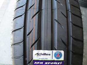 2 New 245 40zr17 Achilles Atr Sport2 Tires 245 40 17 2454017 R17