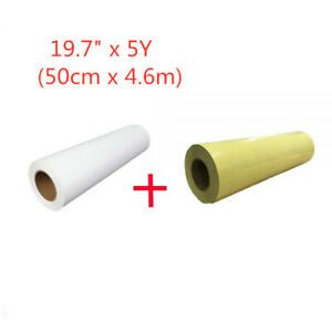 Eco solvent Printable Heat Transfer Vinyl And Application Tape 19 7 X 5 Yard