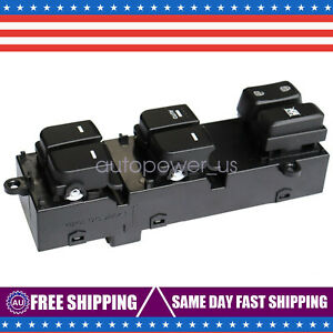 Front Left Master Window Switch Fit For 2011 2012 2013 Kia Optima 93570 2t010