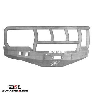 Road Armor 316r2z Front Stealth Full Width Winch Hd Bumper For 16 18 Chevy 1500