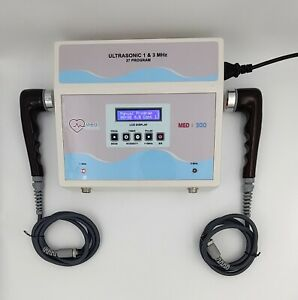 Ultrasound Therapy Machine Pain Relief Ultrasonic 1mhz 3mhz Physiotherapy Unit