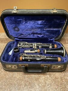 Vintage Evette Clarinet by Buffet Paris France With Case
