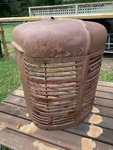 Original Farmall Tractor Usable Radiator Grill Hood Model H Or M