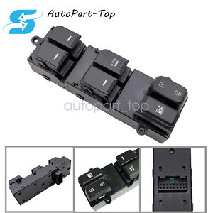 Front Left Master Window Switch For 2011 2012 2013 Kia Optima 4 Door 2 0l 2 4l
