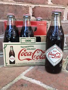 Coca Cola 6 Pack  Refreshing Holiday Circa 1900 Limited Edition Collectible