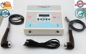 Prof Physiotherapy Ultrasound Therapy 1mhz 3mhz Unit For Pain Relief Machine