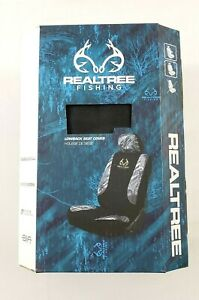 Realtree Fishing Camo Lowback Bucket Seat Cover