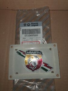 S N 735495888 Genuine New Badge For Abarth