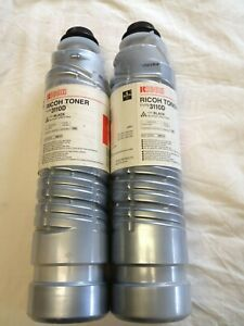 Genuine Ricoh Copier Black Toner 3110d Lot Of 2 Savin lanier 2035 2045 3035 3045