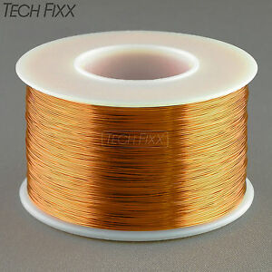 Magnet Wire 32 Gauge Awg Enameled Copper 2450 Feet Coil Winding 200c