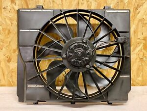 1998 Jeep Grand Cherokee 5 9 Limited Electric Fan W Brackets high Speed Only