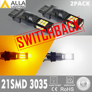 Led 2 color Front Turn Signal Bulbs Pair Set For 01 11 Ford Ranger Pickup Truck
