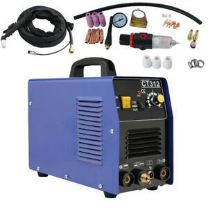 Ce 3 In 1 Ct312 Tig Mma Air Plasma Cutter Welder Welding Torch Machine Fda