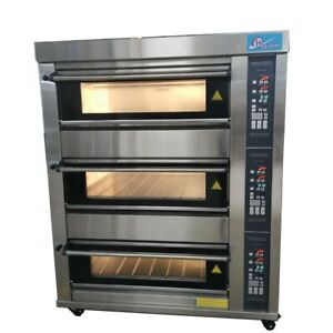 Deck Oven Electric With Steam Injection Stone Brand New