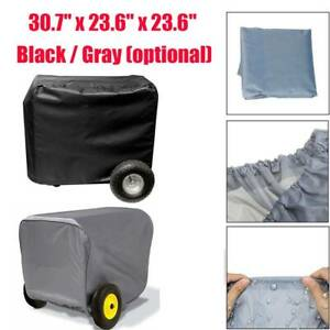 30 7 Generator Storage Cover For Champion Portable Weather resistant Black gray