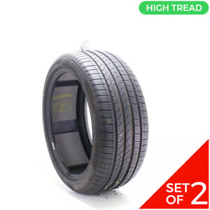 Set Of 2 Used 265 40r20 Pirelli Cinturato P7 Ao Pncs 104h 10 32