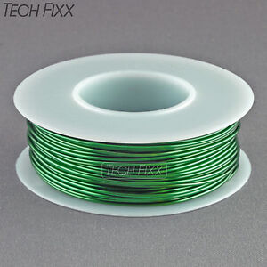 Magnet Wire 21 Gauge Awg Enameled Copper 100 Feet Coil Winding And Crafts Green