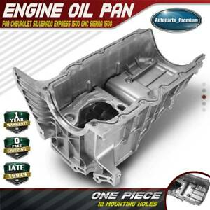Engine Oil Pan For Chevrolet Silverado 1500 Gmc Sierra 1500 Pickup 4 3l 93800961