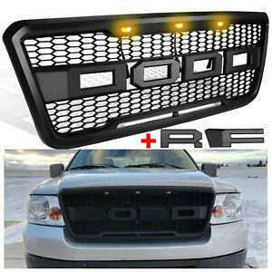 Dodd Raptor Style Grill Front Grille For Ford F150 2004 08 With Lights Letters