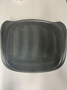 New Genuine Oem Herman Miller Aeron Seat Pan Size A Small Black 3d01