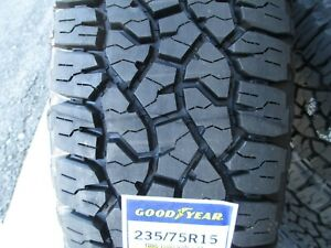 2 New 235 75r15 Goodyear Wrangler Trailrunner At Tires 75r 2357515 R15 75 15 A T